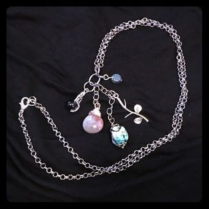 Jewelry - Mermaid in the Sea charm necklace